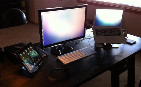 mac setups macbook air 13 samsung 25 display and 2