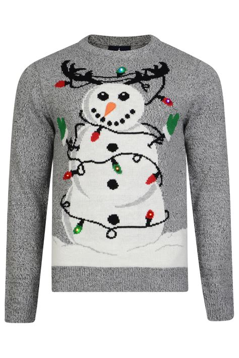 Novelty Light Up Christmas Jumpers Christmas Decore Novelty Light Up Jumpers