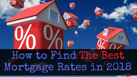 best mortgage how to get the best mortgage rates in 2018