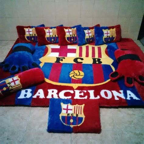 Karpet Set Bulu Rasfur ambal set barcelona bulu rasfur konveksi karpet set