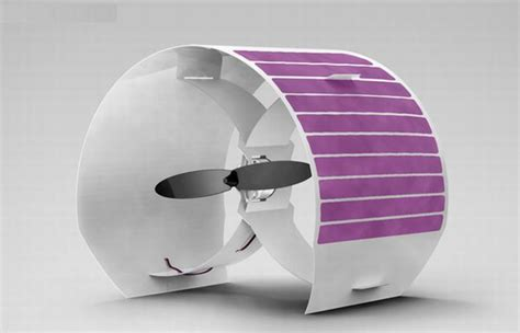 Solar Swimsuit To Power Gizmos by Concept Solar Powered Fan To Beat The Heat Ecofriend