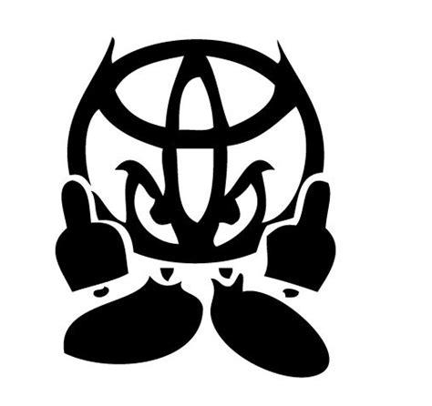 logo toyota yaris toyota logo decals toyota logo little devil yaris