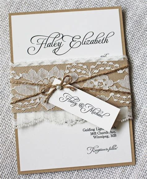 167 best images about shabby chic wedding invitations on pinterest