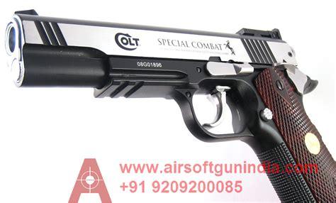 T Shirt Kaos Airsoft Colt Saa colt 1911 special combat classic bb pistol airsoft gun india