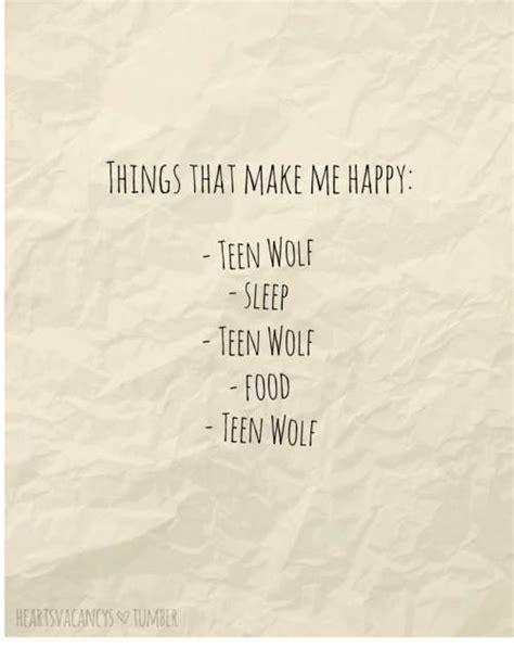 sleeping pattern quotes things that make me happy teen wolf sleep teen wolf
