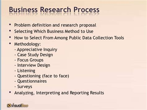 Quantitative And Research Methods In Business Notes For Mba by Business Research Methods