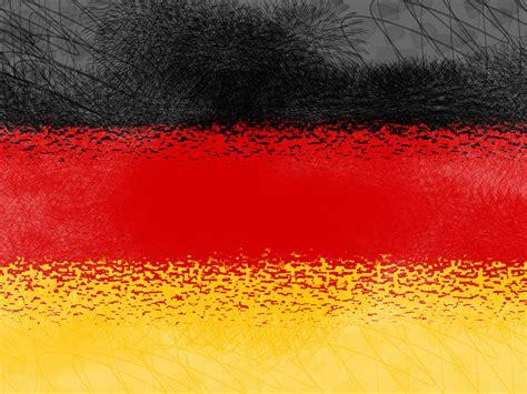 Art Wall Clock by Flagge Deutschland 013 Hintergrundbild
