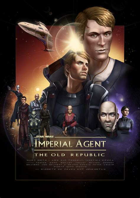 tor the story of swtor imperial agent poster by karanan on