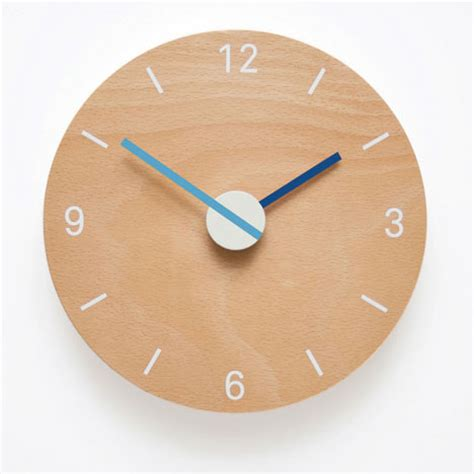 clock design this just inbox wall clock inspired by automotive dial