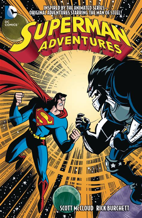 supermantp vol 1 feb160238 superman adventures tp vol 02 previews world