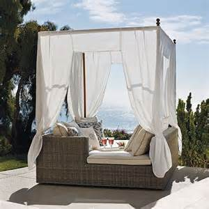 Daybed With Canopy Outdoor Daybed With Canopy Wooden Global