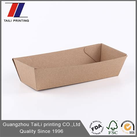 paper food tray template food grade paper food tray template f flute corrugated