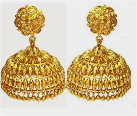 jhumka design images latest gold jhumka earring designs hd wallpaper all 4u