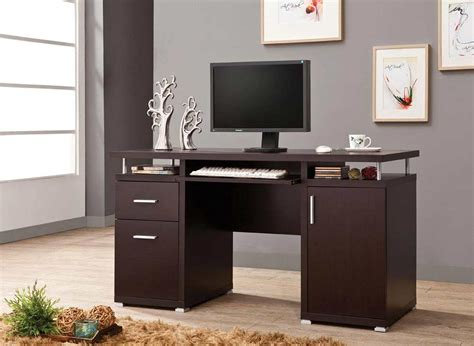 Computer Desk Brown Brown Computer Desk Co 107 Computer Desks