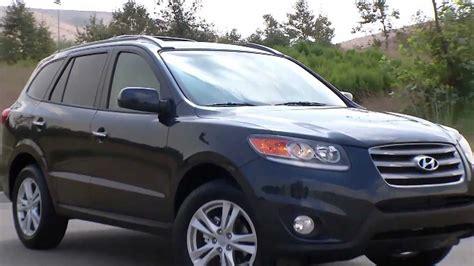 how petrol cars work 2012 hyundai santa fe lane departure warning 2012 hyundai santa fe limited youtube