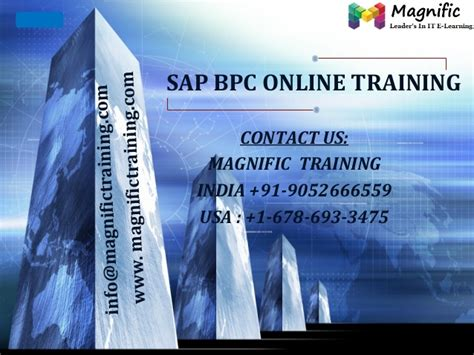 online tutorial in usa sap bpc online training usa uk and canada