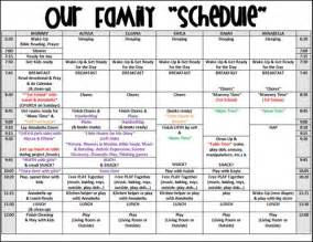 homeschool schedule exle school stuff pinterest