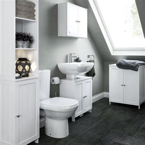 Bathroom Shelves B Q Bathroom Furniture Cabinets Free Standing Furniture Diy At B Q