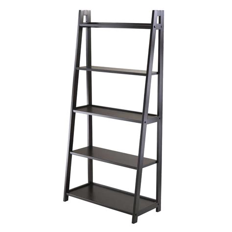 adam 5 tier a frame shelf by winsome in bookcases