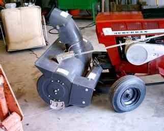 Used Farm Tractors For Sale Snowblower 2003 08 01