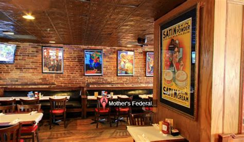Pub Dining Room Tables Review Mother S Federal Hill Grille A Favorite On