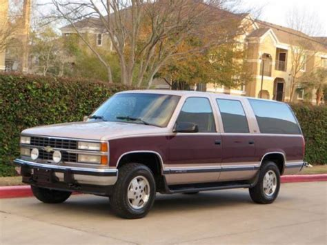 how to sell used cars 1993 chevrolet suburban 2500 on board diagnostic system 1993 chevrolet suburban k1500 5 7 4x4 2 owner 63k miles leather garage kept wow
