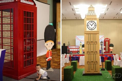 themed parties london yoby s london themed first birthday party one charming day