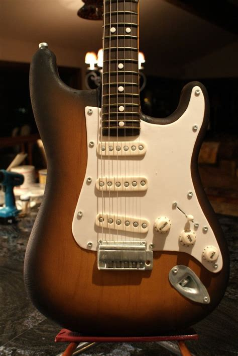 1000 ideas about guitar cake on pinterest guitar