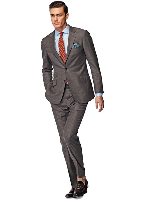 Light Brown Suit by Suit Light Brown Plain P3854i Suitsupply Store