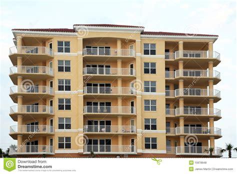 Apartment And Condo Building Luxury Condominium Or Apartment Building Stock Photo