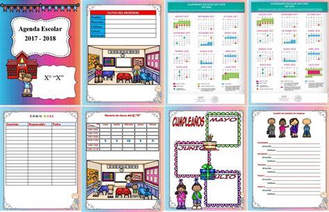 agenda escolar 2017 18 maria 8408172328 estupenda agenda para el ciclo escolar 2017 2018 editable en word educaci 243 n primaria