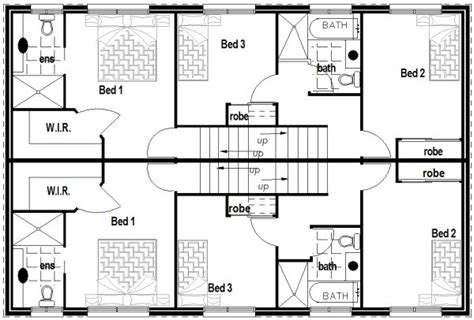 townhouse plans narrow lot australian kit townhouse duplex 2 x 3 bedroom narrow block