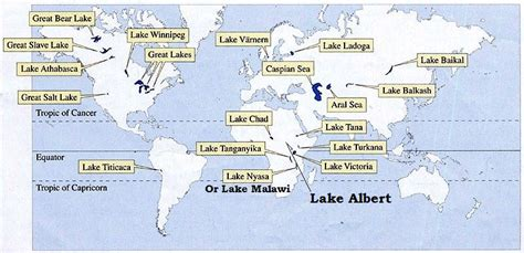 world map with major lakes divergent boundary rift system pmf ias