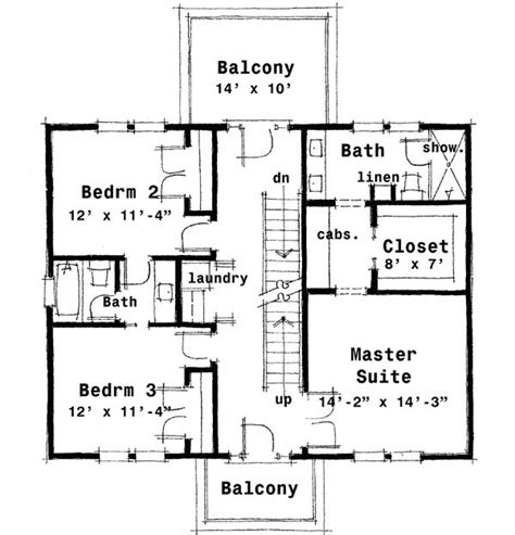colonial plans plan 44045td center colonial house plan narrow lot