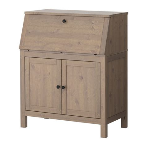 Hemnes Corner Desk Hemnes Gray Brown Set This Up In The Living Room Corner And I Instantly An