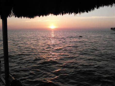 sunset grill boat tours this floating tiki bar in new jersey offers amazing sunset