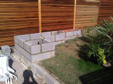 Concrete Blocks For Garden Walls Concrete Garden Wall Search Landscape