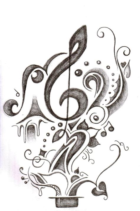tattoo designs of music notes tattoos designs ideas and meaning tattoos for you