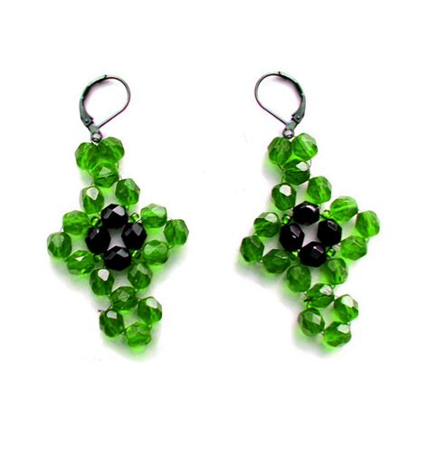 beaded earrings patterns free earrings pattern