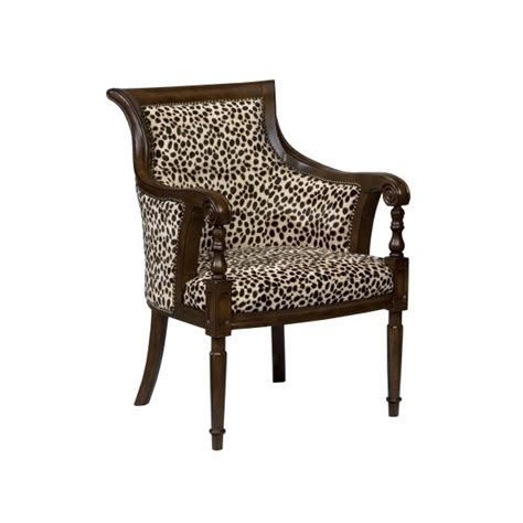 animal print armchair ivan smith furniture occasional chairs animal print