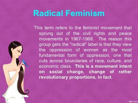 radical feminism feminist activism feminism