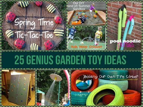 homemade europe diy design genius 25 genius garden toy ideas