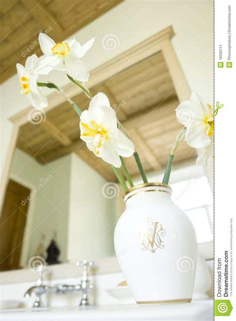 flowers in the bathroom flowers in the bathroom stock image image 16330111