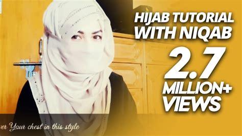 simple niqab tutorial dailymotion hijab tutorial with niqab parizaad youtube