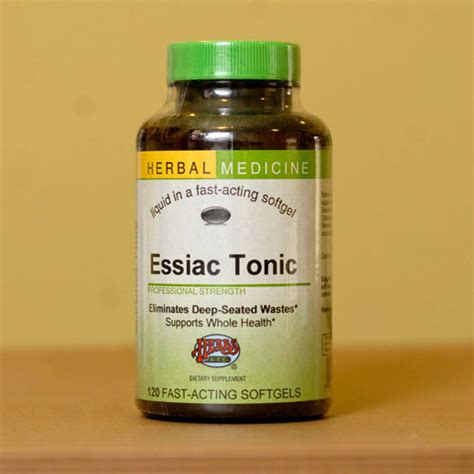 Essiac Tonic Detox by Essiac Tonic Softgels