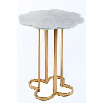 marble gold side table noir manning gold marble top end table