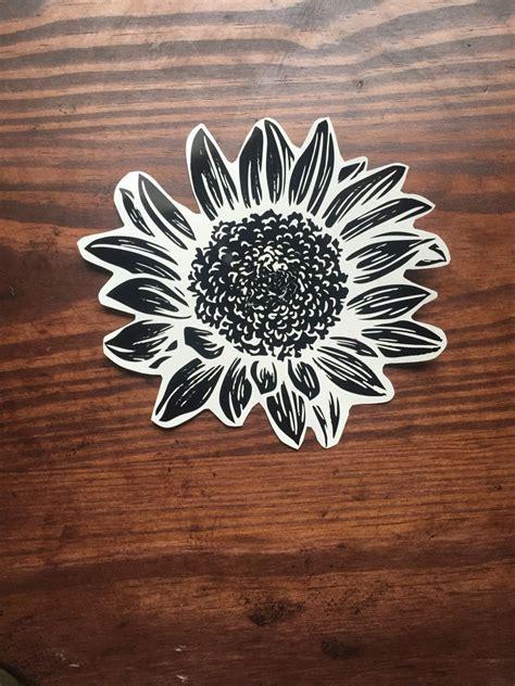 Sunflower Car Sticker
