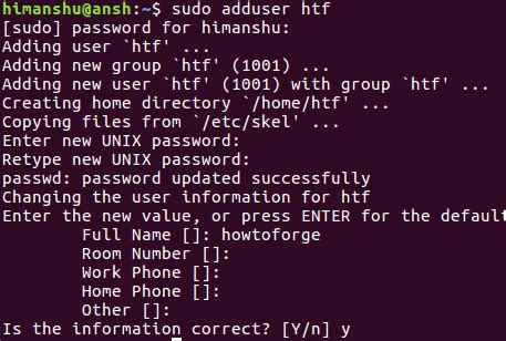 linux tutorial for beginners with exles linux adduser addgroup command tutorial for beginners 7