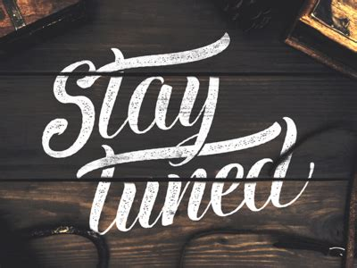Stay Tunedmore Events This Week by Stay Tuned By Ian Barnard Dribbble