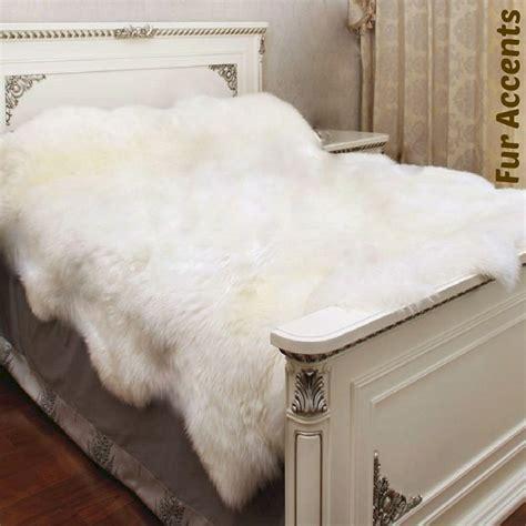 Faux Fur Bedding Set Great Faux Fur Bedspread Comforter Fres Hoom